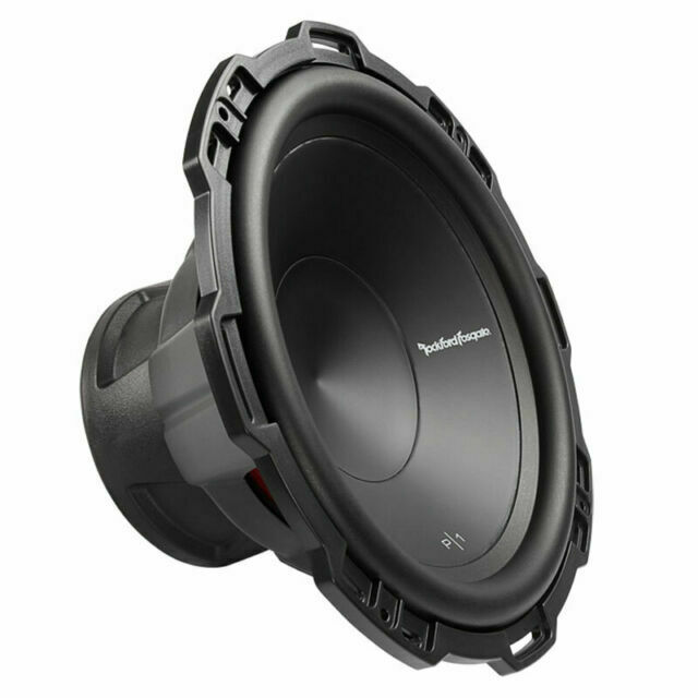 "Rockford Fosgate P1S412-12/""  Punch Series 500 Watt Car Subwoofer Bass Sub"