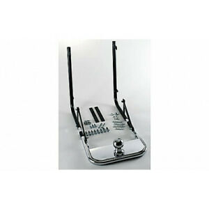 Trailer-Receiver-Hitch-Chrome-With-Ball-For-Honda-Goldwing-GL1200-GL1100