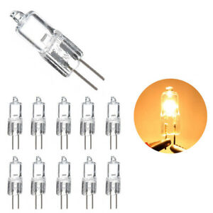 5-10X-G4-5W-10W-20W-35W-50W-Clear-Halogen-Capsule-Light-Bulbs-Replace-Lamp-12V
