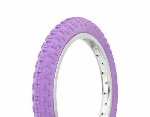 "1 BICYCLE TIRE 16""x2.125"" Purple Comp 3 Design DURO JOGGER BMX Bike Scooter"