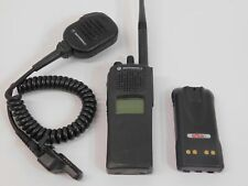 Motorola Xts 2500 H46kdd9pw5bn Vhf 136 174mhz Two Way Radio With Battery Mic