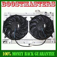 "Radiator+12""Fan+Shroud COMBO for 90-97 Mazda Miata Manual Transmission ONLY"