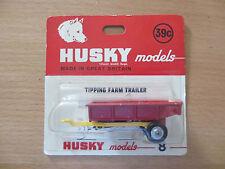 Husky 8 Tipping Fram Trailer in OVP mint