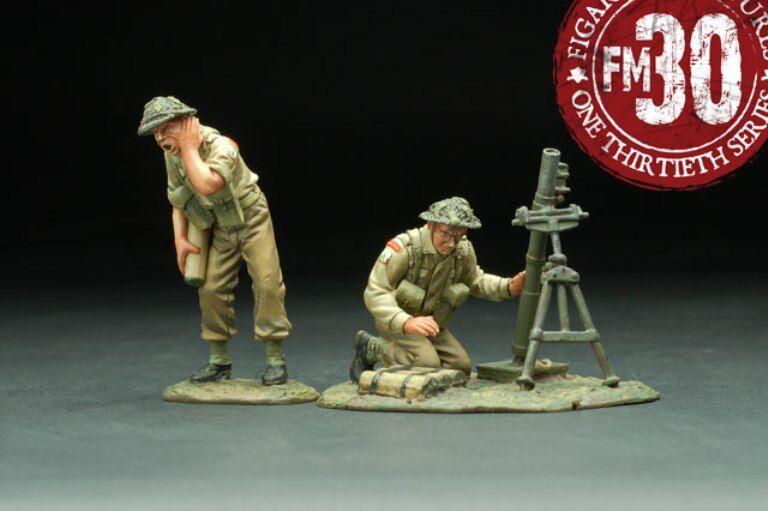 FIGARTI MINIATURES WW2 POLISH RMA-005 3RD CARPATHIAN MORTAR TEAM MIB