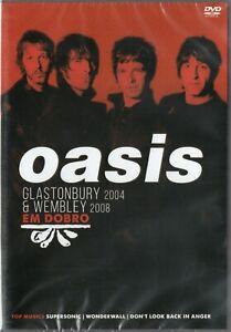 Oasis-em-Dobro-DVD-Glastonbury-2004-amp-Wembley-2008-Nuevo-Sellado-Raro