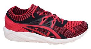 Synth Homme Rouge Baskets kayano Vrai Lacets Gel Asics Tricot Cq84YpY