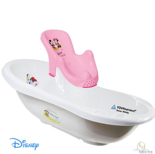 BABYBADEWANNE BADESITZ BABYWANNE SITZ  BABY  WANNE Disney Minnnie Mickey Pooh