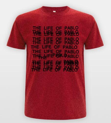 The Life Of Pablo T-shirt Kanye Yeezus Tee Ball Hard Top