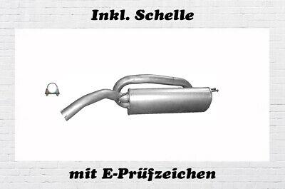 Fiat Bravo II 1.4 16V Montagesatz Gummi Schelle Auspuffgummi Endschalldämpfer