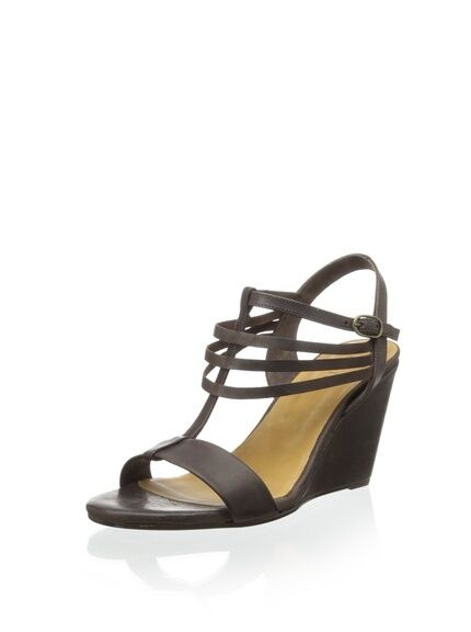 Coclico Josh new Wedge Ankle Sandal Brown Pelle Brazil 8.5 new Josh d192db
