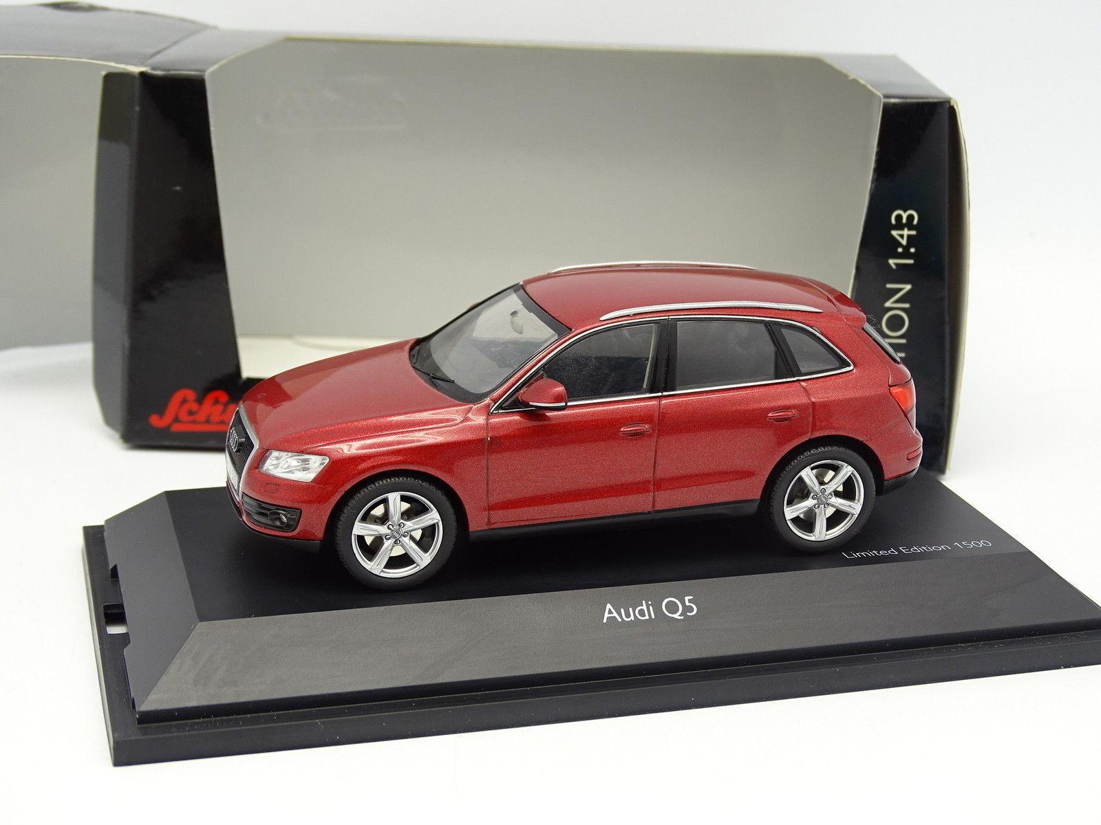 Schuco 1 43 - Audi Q5 rosso