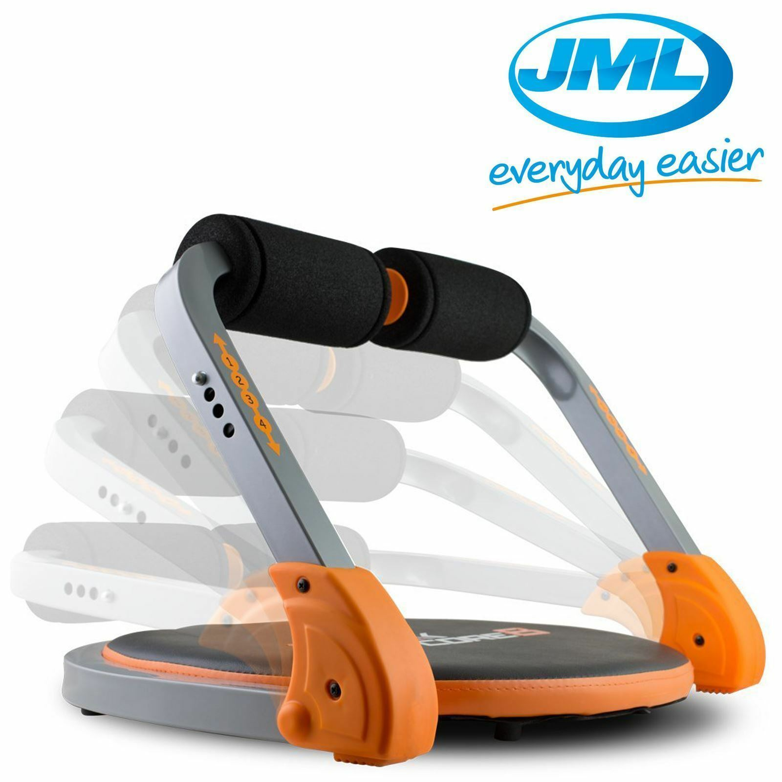 JML Flex Core 8 Ab Body Workout & Exercise Exercise Exercise Machine Home Gym Weight Loss Fitness 3666ef