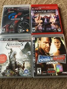 4-Playstation-3-Games-Complete-with-Cases-amp-Instructions