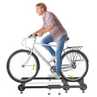 Soozier Indoor Bike Trainer Portable Exercise Bicycle Foldable Roller Stand