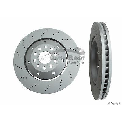 One New Zimmermann Disc Brake Rotor Front Left 100333970 Audi RS6