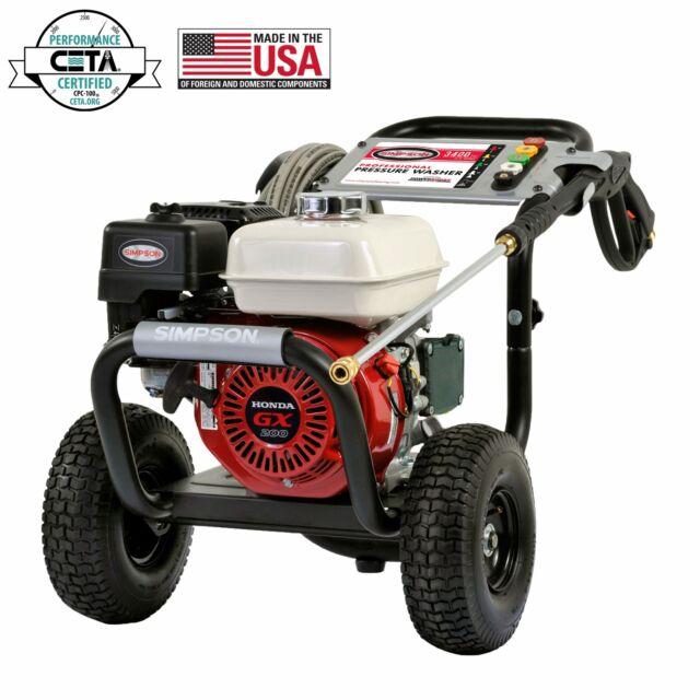 Briggs And Stratton 020725 Elite 3300 Psi 2 5 Gpm Gas Pressure Washer New Ebay