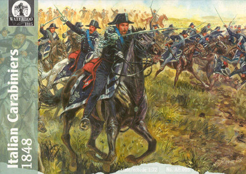 Italian carabiniers 1848-1:72 Waterloo 1815 AP005
