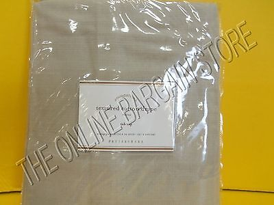 Pottery Barn Textured Cotton Tab Top Drapes Curtains