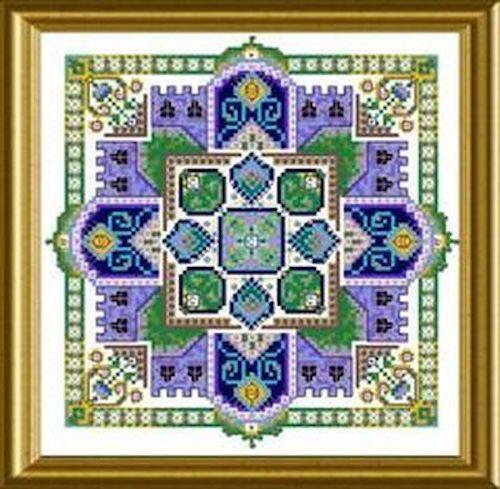 10/% Off Chatelaine Counted X-stitch Chart Mini Mandala Mystery 04-2009