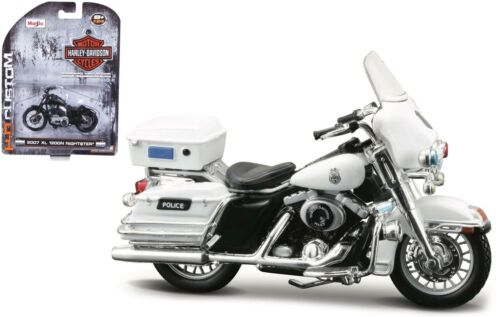 maisto moto modelo 1:24 Harley Davidson 2004 flhtpi Electra Glide Police