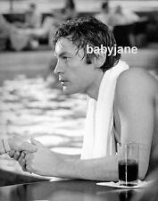 043 HELMUT BERGER WET PROFILE BY POOL ASH WEDNESDAY PHOTO