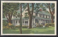 Postcard BEL AIR Maryland/MD  Golf Course Country Club House Inn 1910's