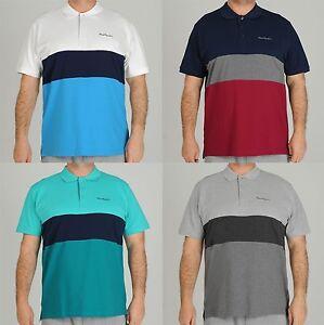 PIERRE-CARDIN-XL-Herren-Poloshirt-T-Shirt-Polo-Shirt-Ubergroessen-Freizeitshirt
