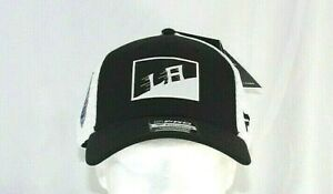 LA Kings White//Black Baseball Cap Snapback