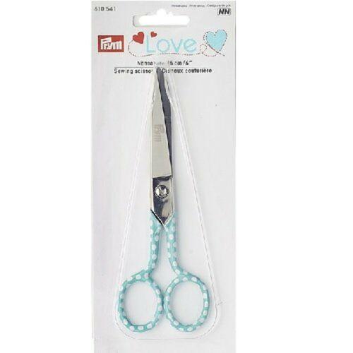 métal Prym Love Couture Ciseaux 15 cm 20.7 x 8.5 x 1.2 cm bleu clair