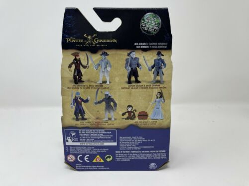 Jack /& Ghost Crewman Action Fig Details about  /Pirates Of The Caribbean Dead Men Tell No Tales