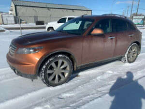 2005 Infiniti FX45 premium package Mechanical Special