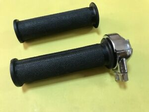 New-7-8-039-039-Norton-Handle-Bar-Twist-Grip-with-rubber