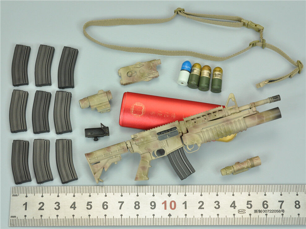 Grenade Launcher Set for SoldierStory SS105 ISOF Iraq Special Operations Forces