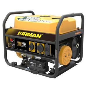 FIRMAN Performance RV Ready Gas Powered Portable Generator 208 cc 4550/3650 Watt