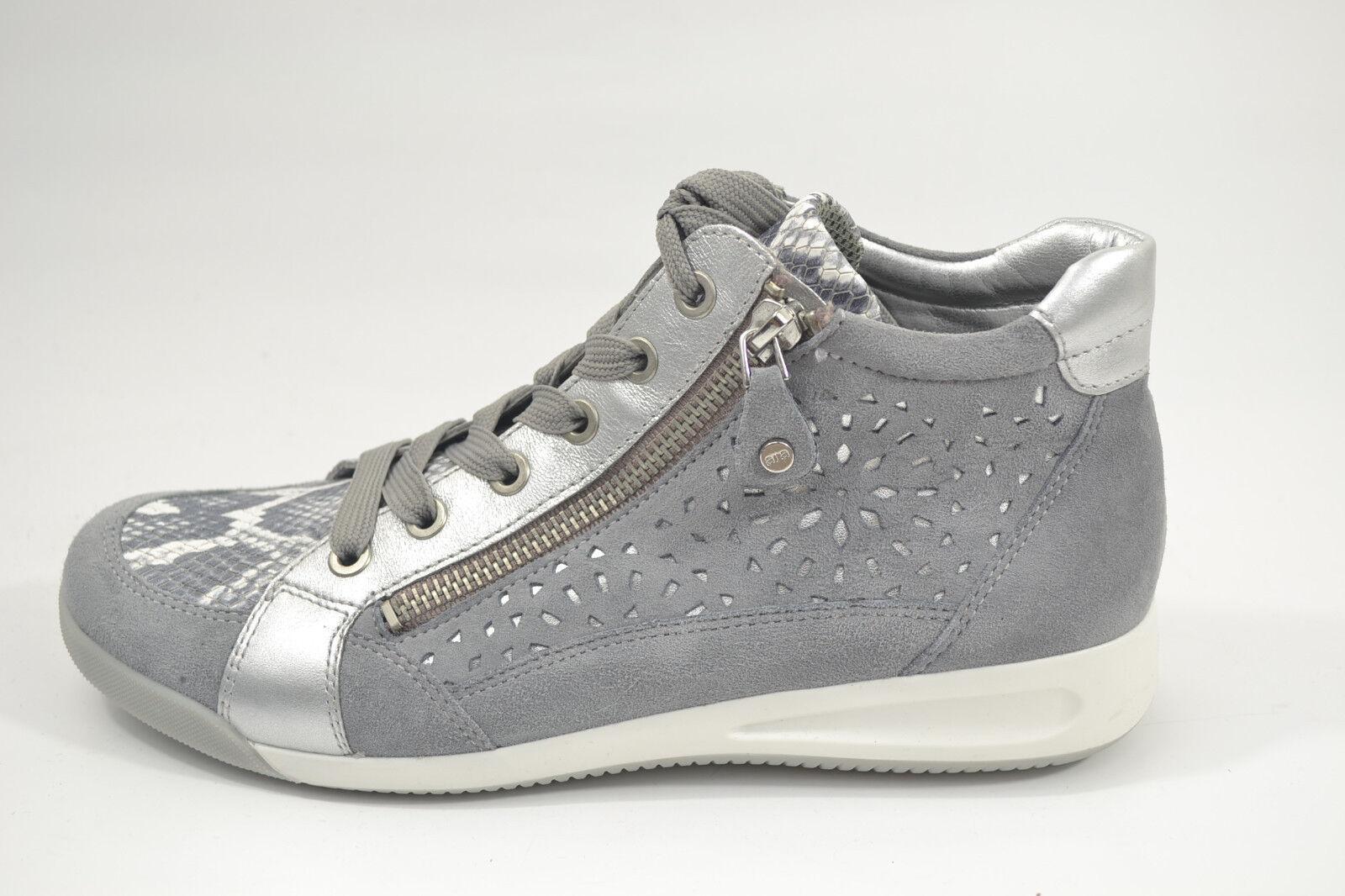Ara Damen Sneaker Schuhe Stiefel Stiefeletten NEU 12-34441-07 grau NEU Stiefeletten ROTUZIERT 5f0406