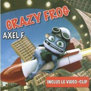 Axel F. [CD Single] Crazy Frog inclus le clip - France - État : Bon état: Objet ayant déj servi, mais qui est toujours en bon état. Le botier ou la pochette peut présenter des dommages mineurs, comme des éraflures, des rayures ou des fissures. Pour les CD, le livret et le texte arrire du botier s - France