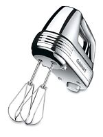 Cuisinart HM-70BC Brushed Chrome 220-W Power Advantage 7-Speed Hand Mixer - Refurbished