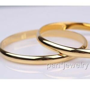 Dia60mm-8mm-Openable-Bangle-18k-Gold-Filled-Womens-Bracelet-Jewelry-Gift