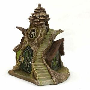 Merlin-039-s-Manor-Fairy-House-latest-Fiddlehead-Miniature-Fairy-Garden-Product