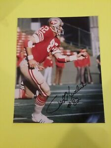 Ted-Kwalick-49ers-Signed-Autograph-NFL-8x10-Photo-Hand-signed-No-CoA