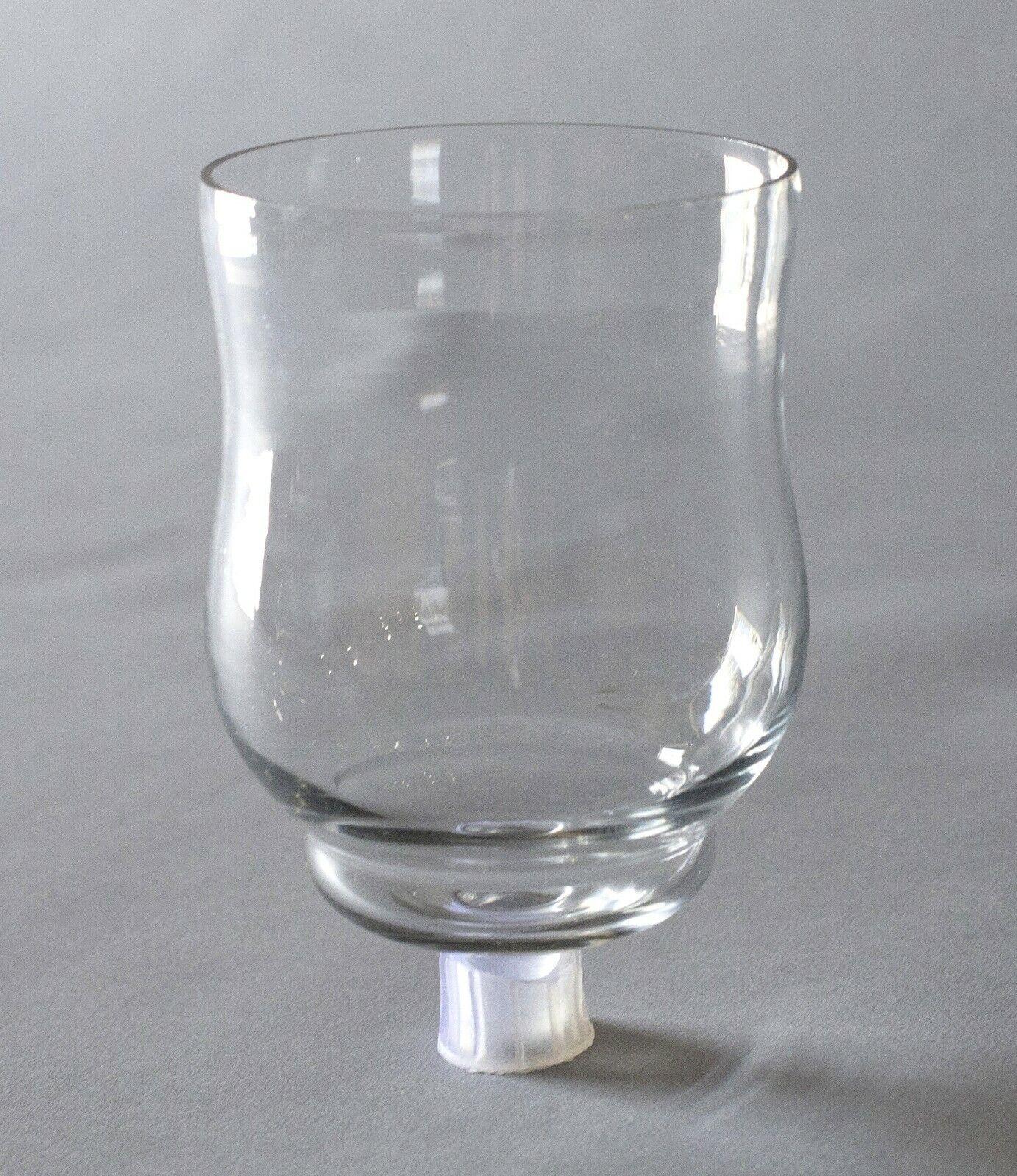 32 pcs Case 4  Clear Glass Peg Votive Holder Tea light Fuel Cell Votive Candle