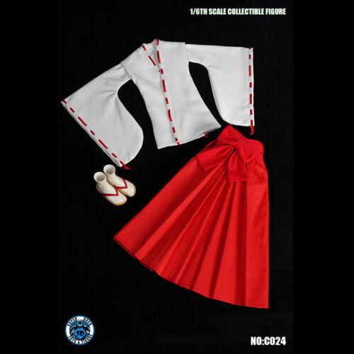 "SUPER DUCK C024 1//6 Female Witch Clothing Hakama Geta For 12/"" Figure Body"