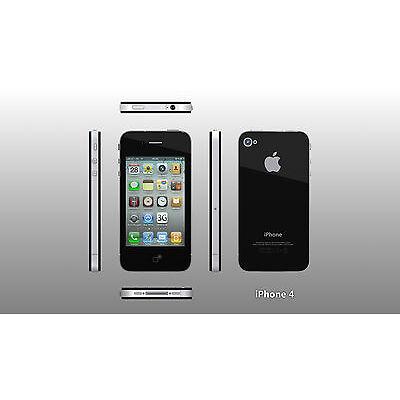 Apple iPhone 4-16gb black or white mix  (unlocked) smartphone