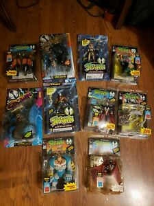 McFarlane-Toys-Spawn-Lot-Of-10-Action-Figures