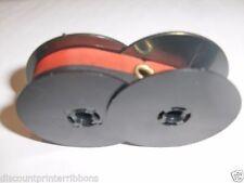 Smith Corona Cougar Ii Typewriter Ribbon Original Small Spools Black Red Ribbon