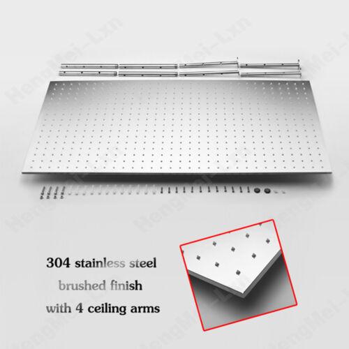 400 800MM Brushed Overhead Shower Rain Shower Head Shower Head Stainless Steel