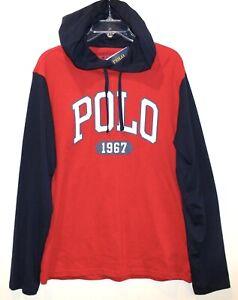 Polo-Ralph-Lauren-Big-amp-Tall-Mens-Red-Blue-Polo-1967-Hoodie-L-S-T-Shirt-NWT-XLT
