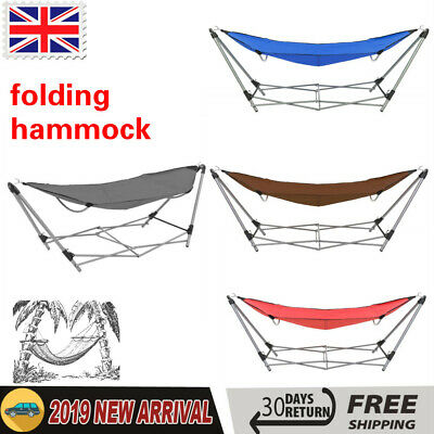 KCASA 2-Person Hammock Enjoy Parachute Nylon Fabric Travel Camping