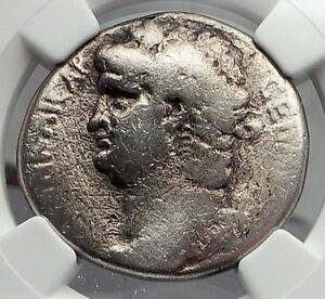 NERO-65AD-Authentic-Ancient-Silver-Tetradrachm-Coin-of-Antioch-Eagle-NGC-i60105