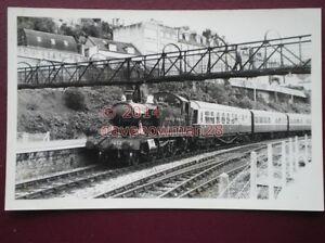 PHOTO-GWR-LOCO-NO-458-AT-KINGSWEAR-SEPT-1980